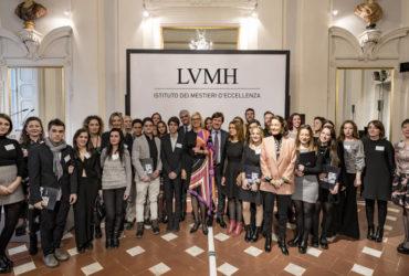 For.al presente all'inaugurazione LVMH