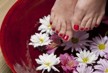 Il trattamento estetico dei piedi