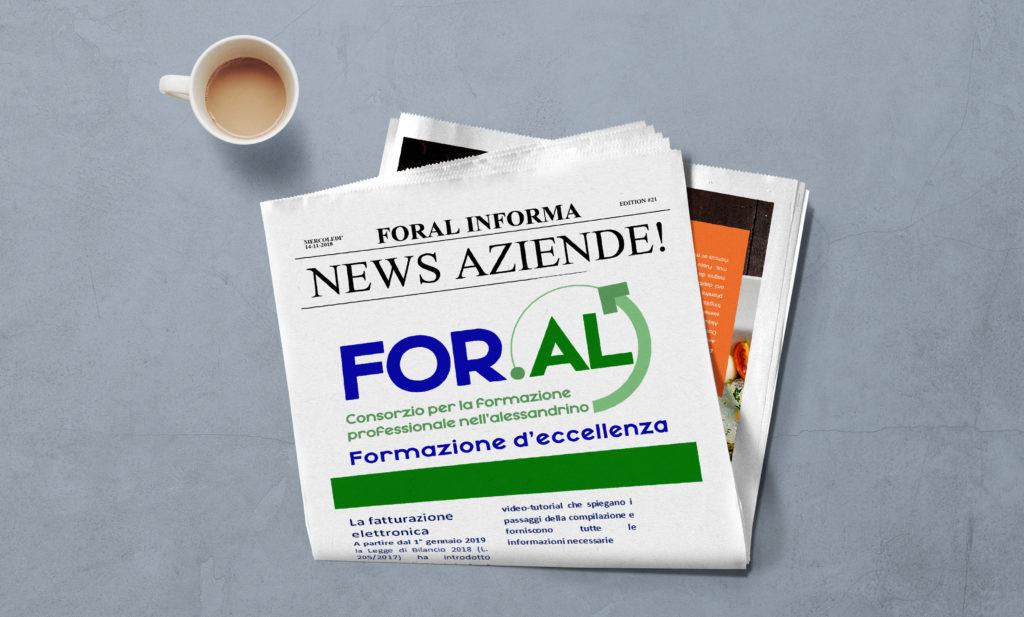 NEWS AZIENDE!  FOR.AL: Informa e Forma